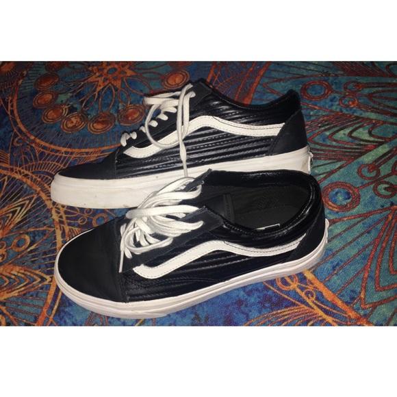 Vans Moto Leather Old Skool Sneakers
